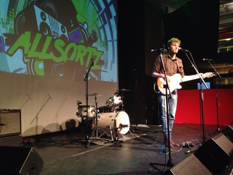 Ronoc Live @ Allsortz Open Mic - May'14