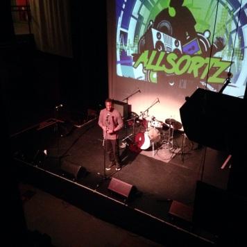 Jolade Live @ Allsortz Open Mic - May '14